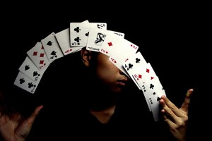 magician, racenights, fun casino nights in Kent, London